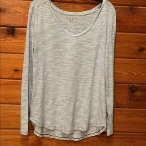 Loft basic long sleeve tee.
